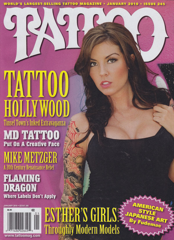 Tattoo Magazine Back Issues Year 2010 Archive