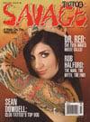 Tattoo Savage # 98 - March 2009 magazine back issue