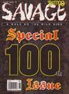 Tattoo Savage # 100 - June 2009 magazine back issue