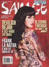 Tattoo Savage # 103 - October 2009 magazine back issue
