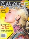 Tattoo Savage April 2012 magazine back issue