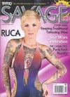 Tattoo Savage April 2013 magazine back issue