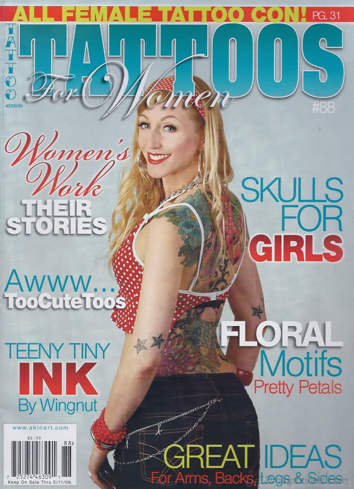 Tattoos for Women # 88 magazine back issue Tattoos for Women magizine back copy
