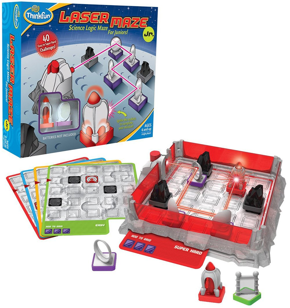 Laser Maze Junior Science Logic Maze for Kids Game Made by Think Fun laser-maze-jr