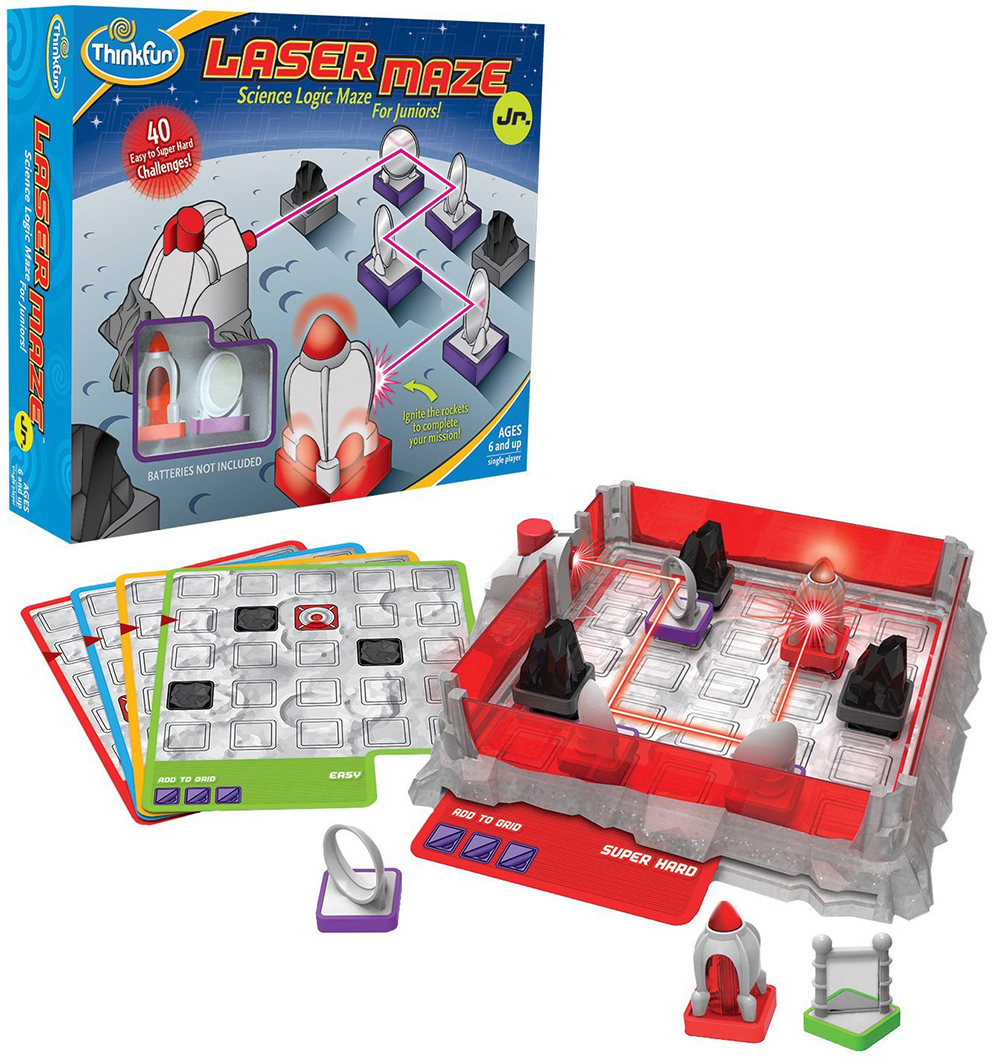 Laser Maze Junior Science Logic Maze for Kids Game Made by Think Fun laser-maze-jr