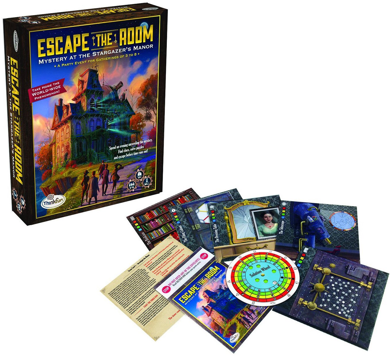 Escape the Room Game for Party Night by ThinkFun escape-the-room