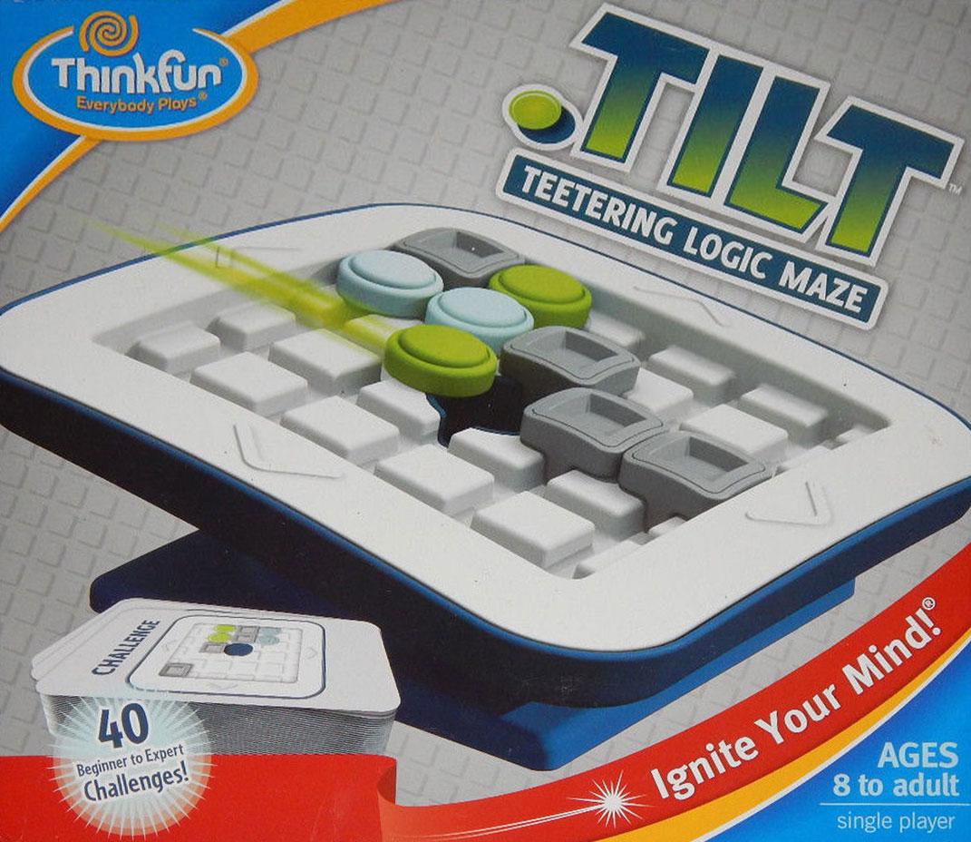 Tilt Teetering Fun Labyrinth Logic Game by ThinkFun tilt