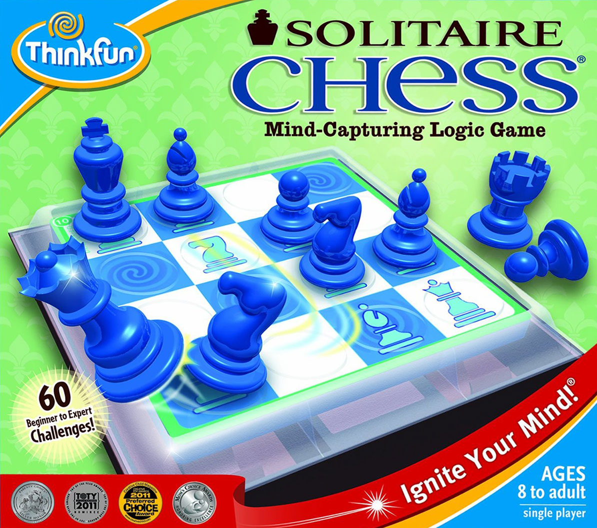 Solitaire Chess Mind-Capturing Logic Game by ThinkFun solitaire-chess
