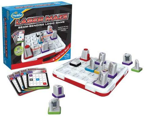 Laser Maze Beam-Bending Logic Game by ThinkFun lazer-maze