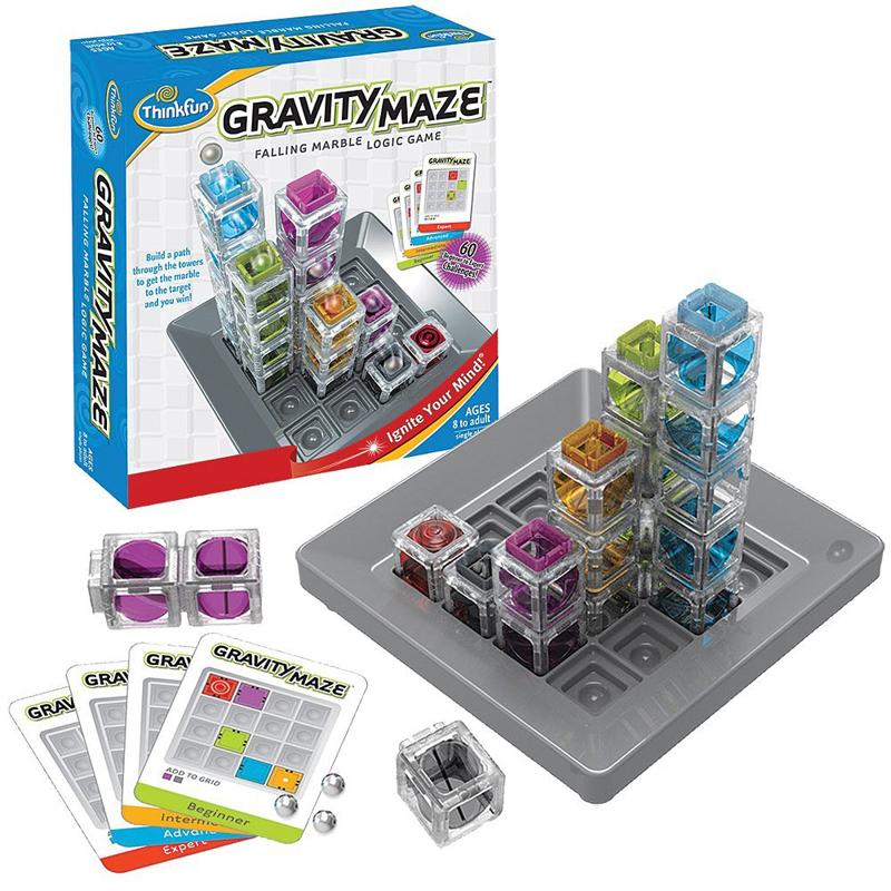 Gravity Maze Marble Falling Logic Game by ThinkFun gravity-maze