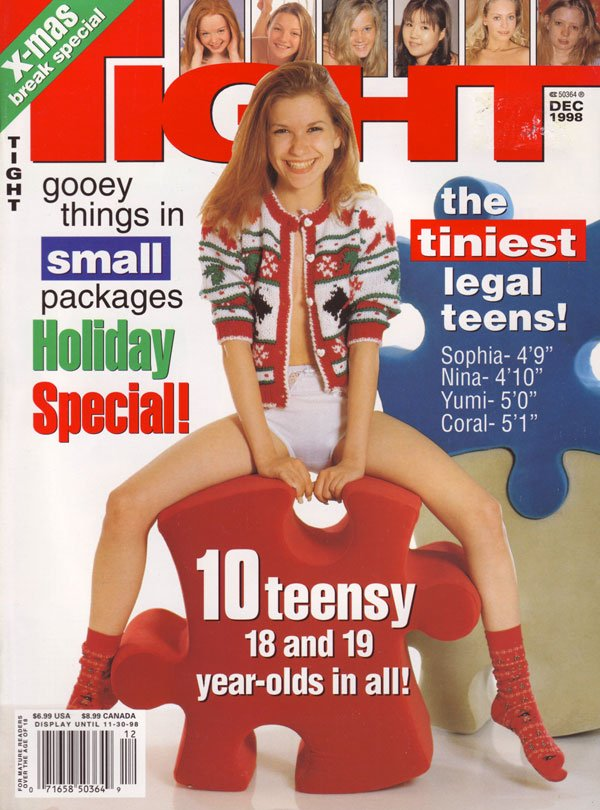 Tight December 1998 magazine back issue Tight magizine back copy tight magazine back issues 98 hot horny nude teens teen porn innocent virgins getting fucked explici