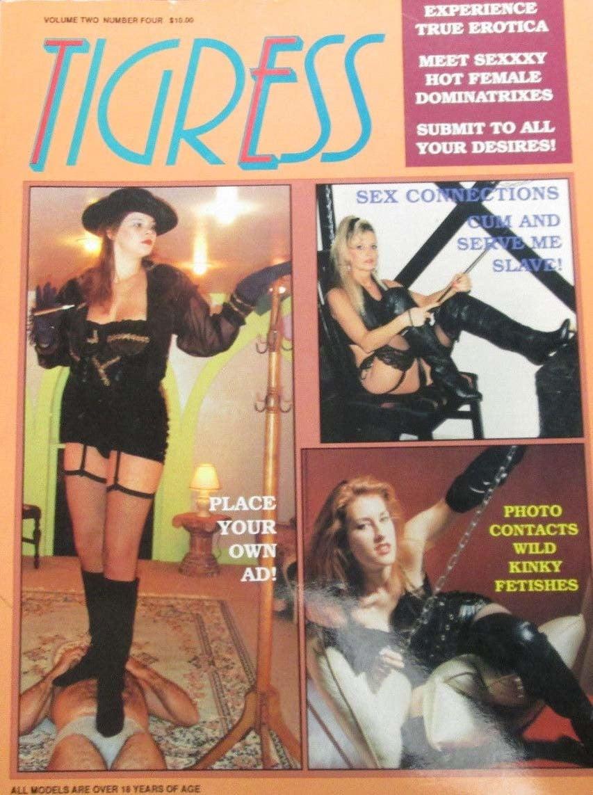 Tigress Vol. 2 # 4 magazine back issue