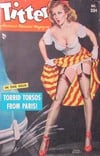 Titter December 1952 magazine back issue