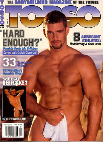 Torso January 2000 magazine back issue Torso magizine back copy