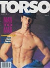 Kristen Bjorn Torso January 1992 magazine pictorial