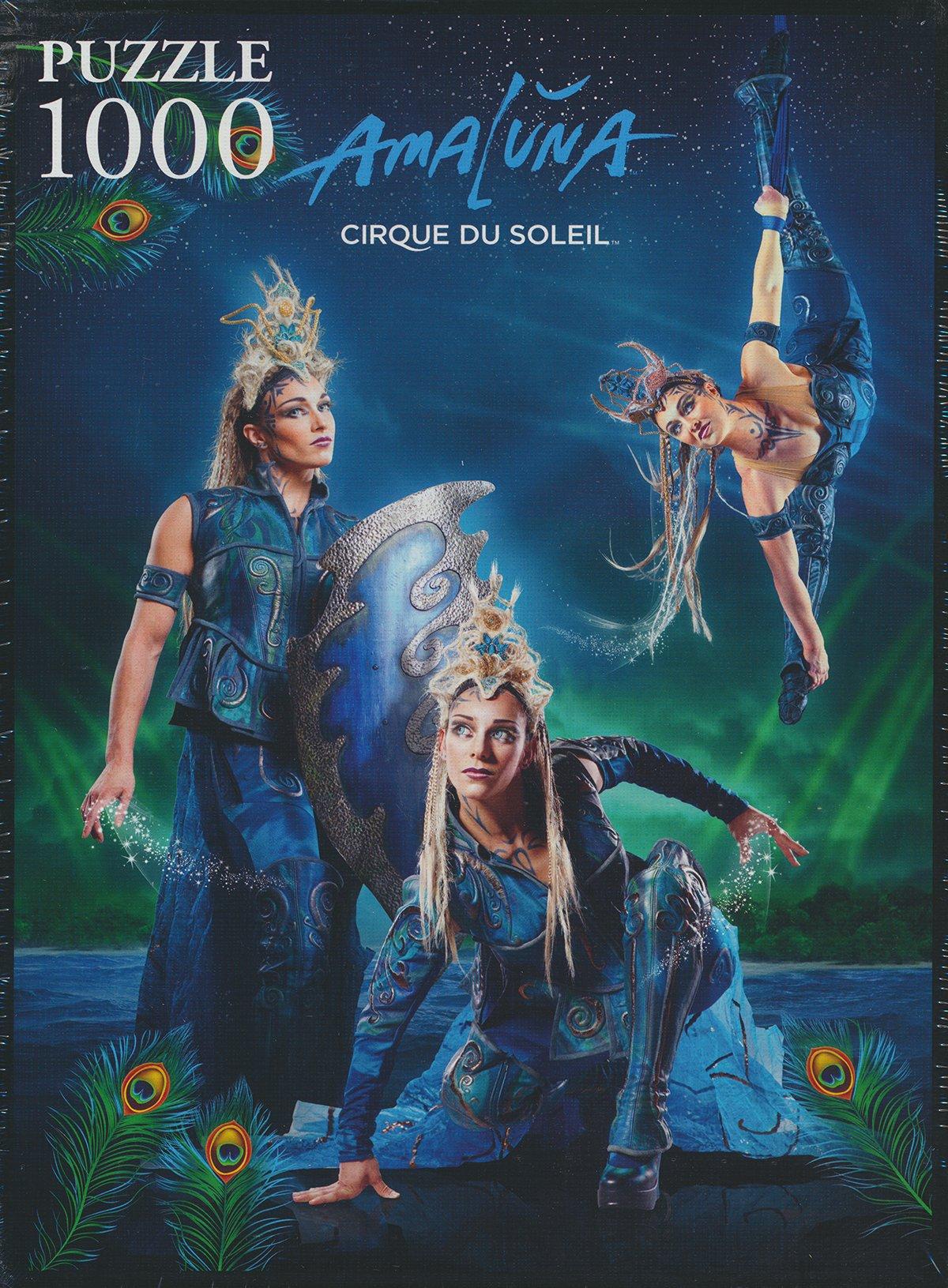 Trefl Jigsaw Puzzle 1000 Pieces amaluna, cirque de soleil circus puzzel amaluna-cirque-soleil