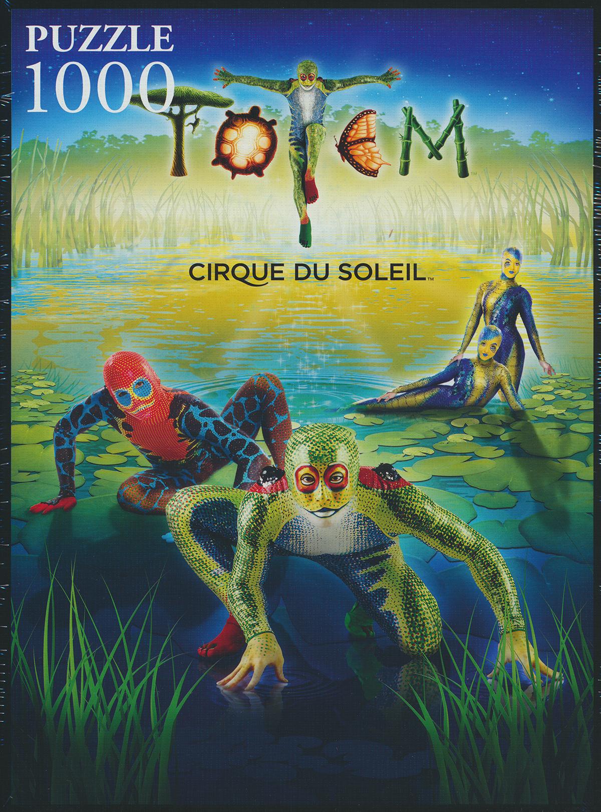 Trefl Jigsaw Puzzle 1000 Pieces totem, cirque de soleil circus puzzel totem-cirque-soleil
