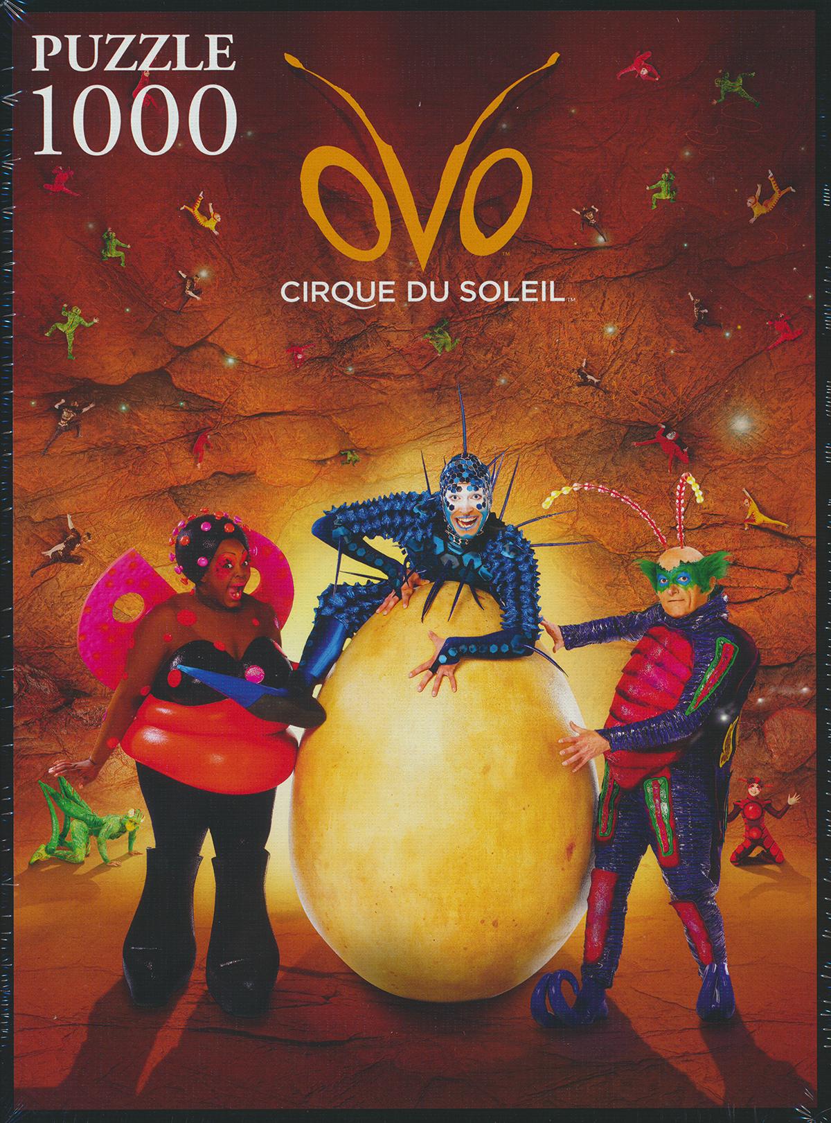 Trefl Jigsaw Puzzle 1000 Pieces ovo, cirque de soleil circus puzzel ovo-cirque-soleil
