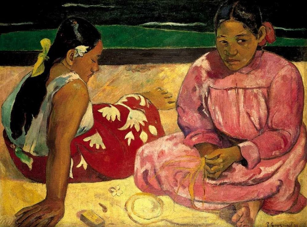 Trefl Jigsaw Puzzle 1000 Pieces Paul Gauguin painter women on the beach in tahiti women-tahiti-beach