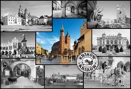castorland 1500 pieces jigsaw puzzle, cracow krakow city poland collage krakow-collage