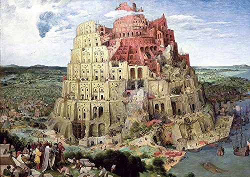 Tower of Babel 4000 piece jigsaw puzzle painted by Peter Bruegel Elder Trefl Puzzles Europe tower-of-babel