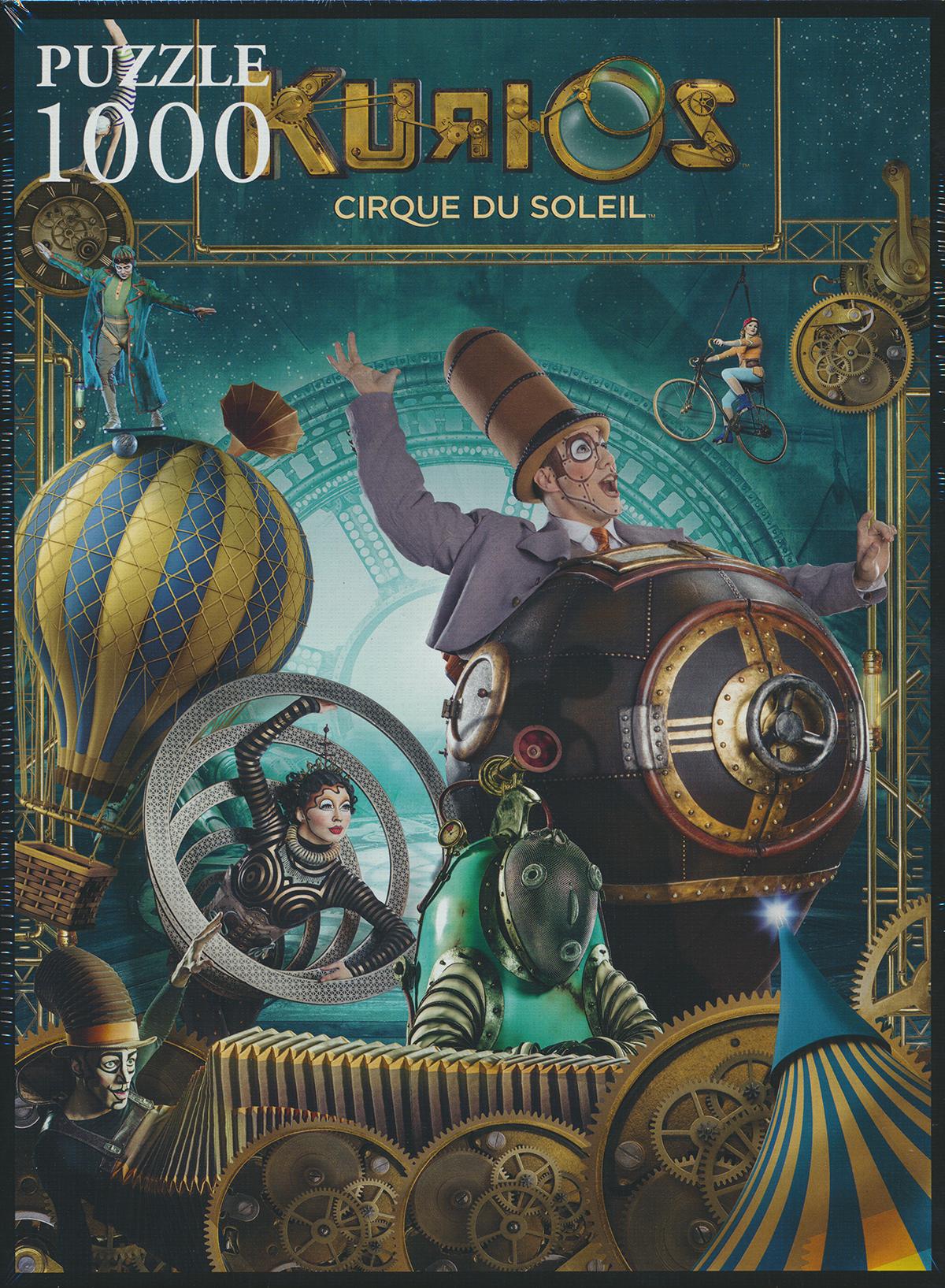 Trefl Jigsaw Puzzle 1000 Pieces kurios, cirque de soleil circus puzzel kurios-cirque-soleil