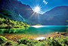 Morskie Oko Laka, the Tatras photo jigsaw puzzle trefl puzzle 10202
