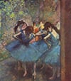 Trefl Jigsaw Puzzle 1000 Pieces by Hilaire Germain Edgar Degas of his Dancers in Blue painting