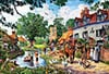 idyllic lakeside Ravensburger 1000 Panoramic Piece Jigsaw Jungle Puzzle david noton photograph Puzzle