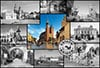 castorland 1500 pieces jigsaw puzzle, cracow krakow city poland collage