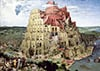 tower-of-babel,Tower of Babel 4000 piece jigsaw puzzle painted by Peter Bruegel Elder Trefl Puzzles Europe