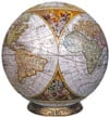 antiquenauticalmapglobe9,3d jogsaw puzzle antique nauticalmap 9 inch spherical globe showpiece collectable