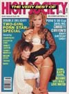 Christy Canyon & Veronica magazine cover  Very Best of High Society # 27