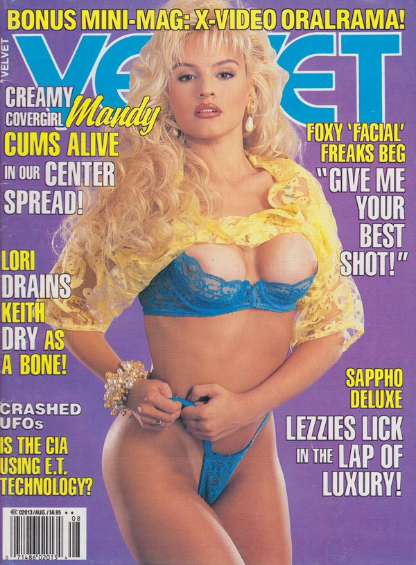 Velvet August 1992 magazine back issue Velvet magizine back copy velvet magazine 1992 back issues xxx explicit erotic pictorials naughty babes sappho lezzies licking