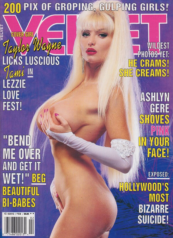 Velvet February 1993 magazine back issue Velvet magizine back copy porn magazine velvet 1993 back issues hot nude babes taylor wane covergirl xxx explicit muff shots s