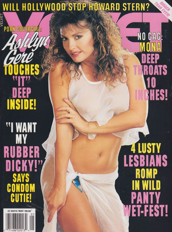 Velvet May 1993 magazine back issue Velvet magizine back copy 1993 issues of velvet porn magazine ashlyn gere covergirl lusty lesbians all nude licking labe expli