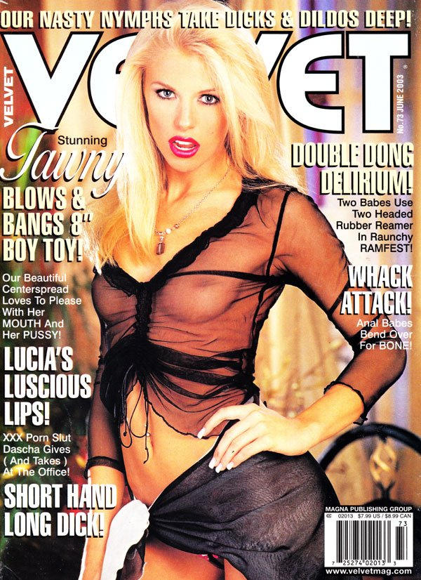 Velvet June 2003 magazine back issue Velvet magizine back copy velvet porno magazine 2003 back issues hot and horny nude women tight pussy pix wet dripping girls h