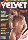Velvet October 1979 magazine back issue