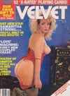 Laura Allen Velvet December 1987 magazine pictorial