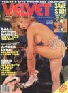 Laura Allen Velvet January 1988 magazine pictorial