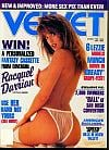 Racquel Darrian magazine cover Appearances Velvet February 1992
