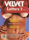 Velvet Letters # 2 - 1983 magazine back issue