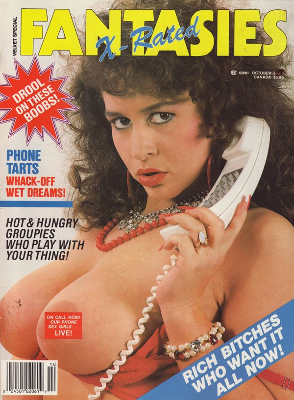 Velvet Special October 1987 - X-Rated Fantasies magazine back issue Velvet Special magizine back copy velvet special x-rated fantasies 1987 xxx hot fantasy mag explicit lesbians orgies sex pics naughty