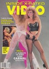 Christy Canyon Velvet Talks Special February 1989 - Inside X-Rated Video magazine pictorial
