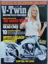 V-Twin October 2001 magazine back issue