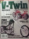 V-Twin November 2003 magazine back issue