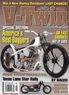 V-Twin August 2011 magazine back issue