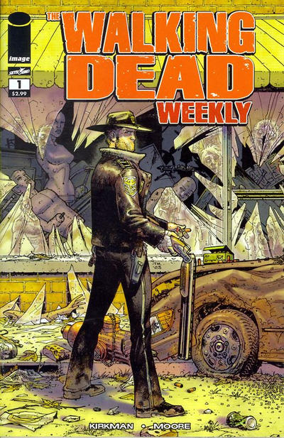Walking Dead Weekly Comic Book Back Issues by A1 Comix