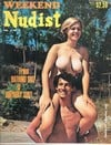 Weekend Nudist Vol. 1 # 1 magazine back issue cover image