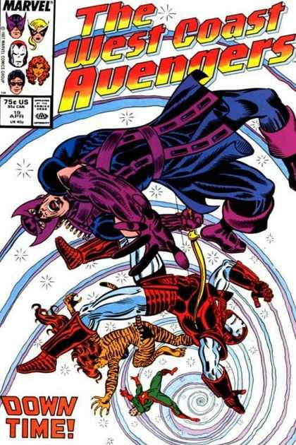 West Coast Avengers A1 Comix Comic Book Database